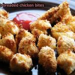 Healthier Chicken Nuggets: Panko Breaded Chicken (Big Boss Fryer Recipe)