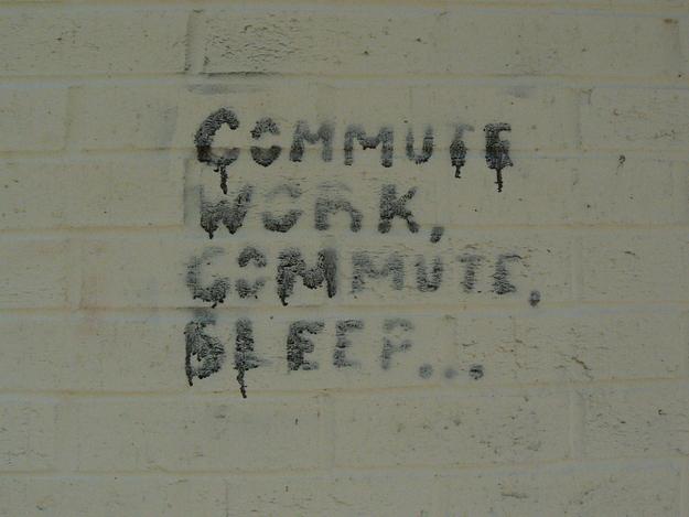 commuting work sleep