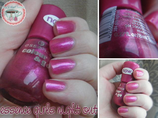 Essence Nail Polish Girls Night Out Swatches