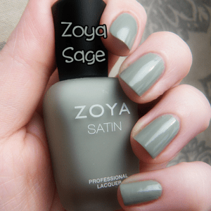Zoya Sage Naturel Satin Swatch