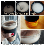 How to make a tea latte at home with no steam