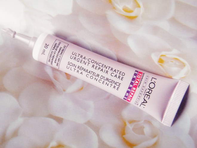 L'oreal Total Repair Extreme Ultra-Concentrated Urgent Repair Care: Review