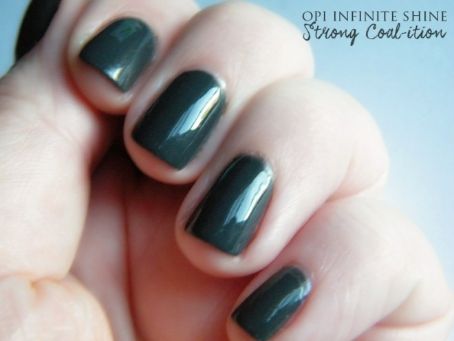 OPI Infinite Shine Strong Coalition Swatch & Review