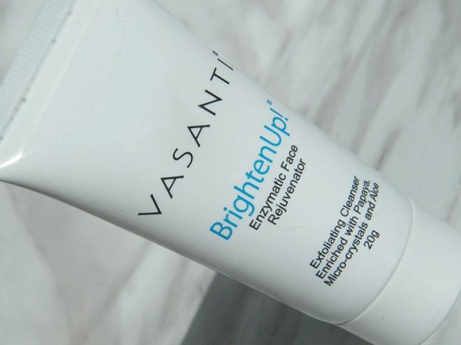 Birchbox Best Health July 2015 Unboxing & Review Vasanti BrightenUp!