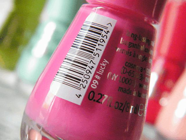 Essence The Gel Canada  09 Lucky