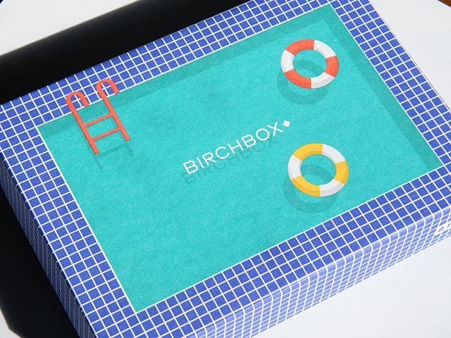 August 2015 Birchbox Unboxing Design