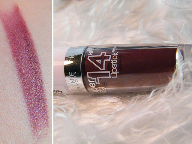 Maybelline Wine And Forever Plum Lipstick