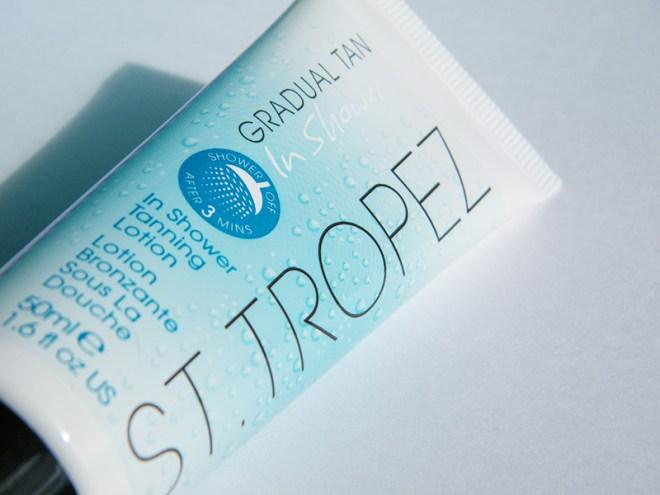 St Tropez In Shower 3 Minute Gradual Tan August 2015 Birchbox