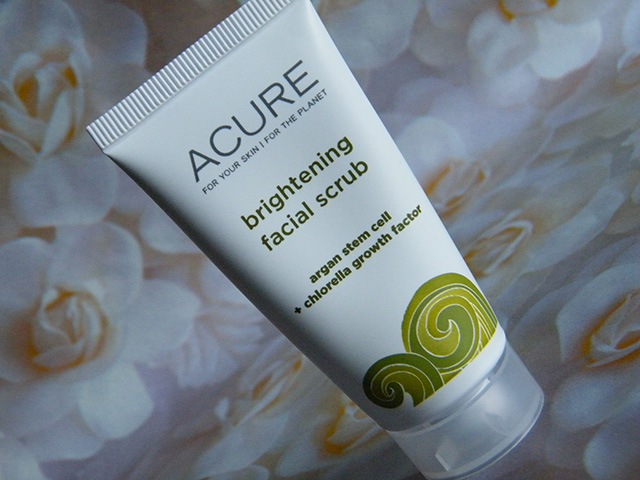 Acure Brightening Facial Scrub Ipsy Sept 2015