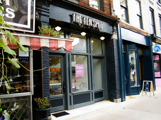 The Ten Spot Hamilton James St