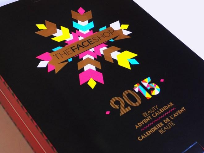 Advent Calendar THEFACESHOP 2015 Closed
