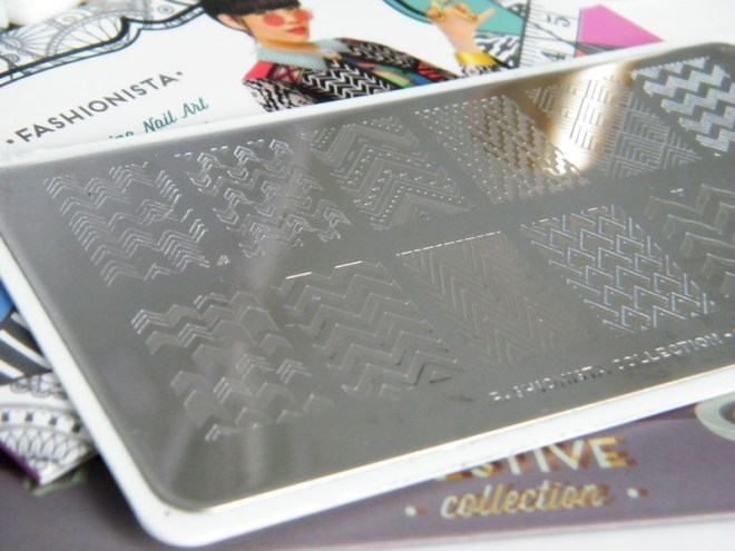MoYou Fashionista Nail Art Stamping Plate Trade Secrets Canada