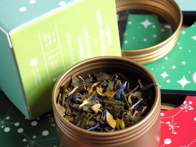 DavidsTea Advent Calendar Day 4 Sweet Almond Green