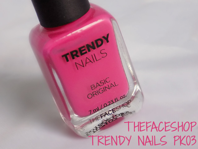 THEFACESHOP Trendy Nails PK03 Swatch