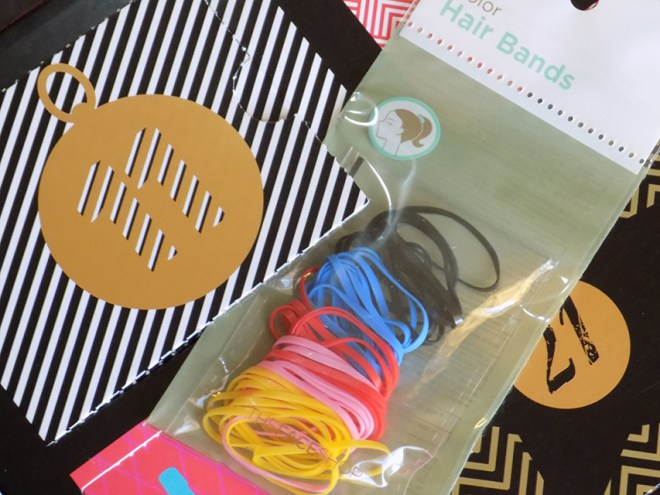 THEFACESHOP Advent Calendar Day 11 Color Hair Bands