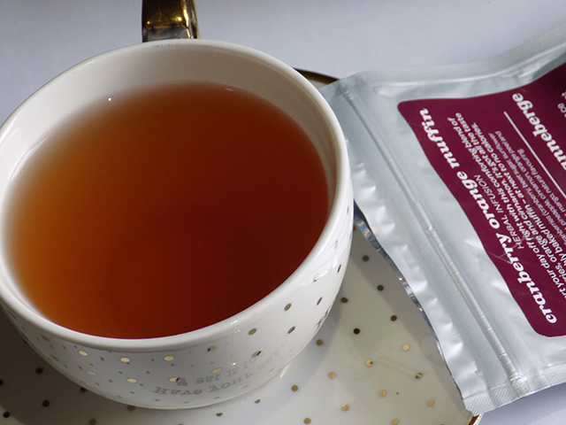 Davids Tea Cranberry Orange Muffin Tea - Cup