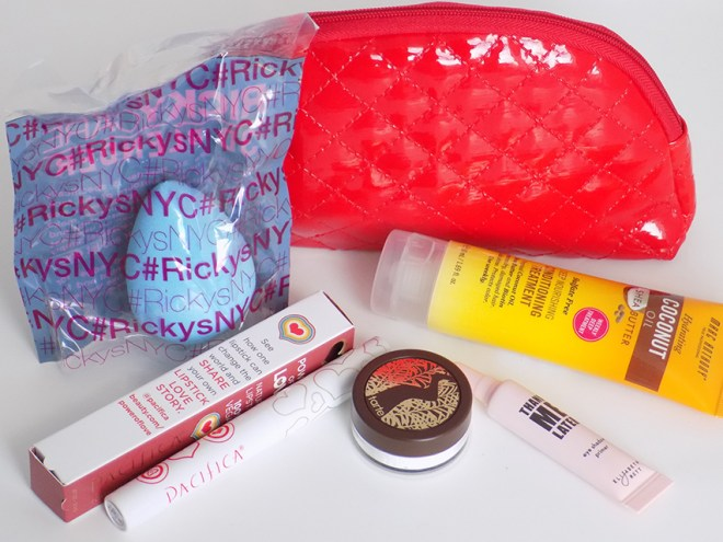 Ipsy December 2015 Glambag All Products