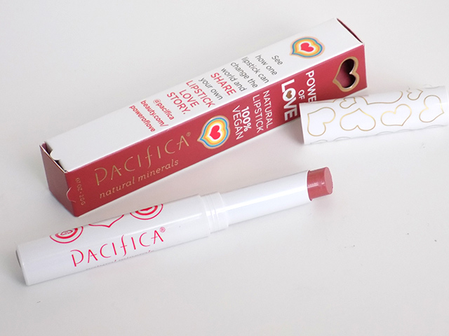 Ipsy December 2015 Pacifica Nudie Red Lipstick