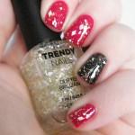 thefaceshop Trendy Nails Glitter GLI001 swatch