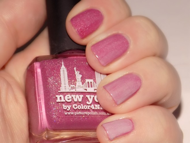 Essence Pastel Ombre Nail Polish Swatch Over Picture Polish New York