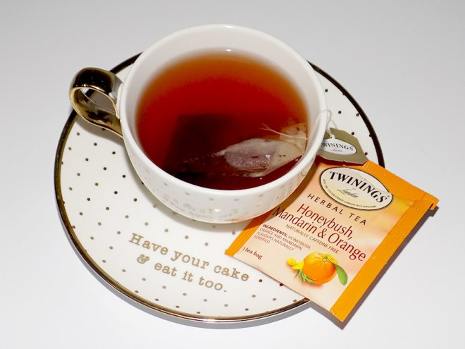 Twinings Herbal Tea Variety Review - Honeybush Mandarin Orange Tea