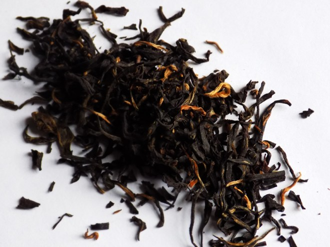 davidstea nepal black dry leaf tea