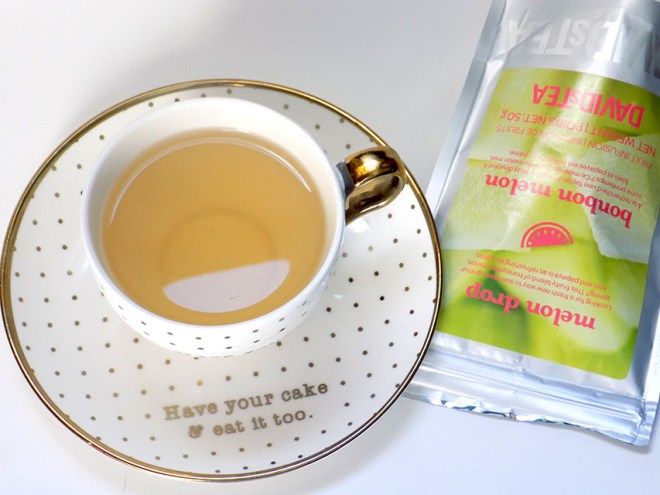 DavidsTea Melon Drop Cup & Package