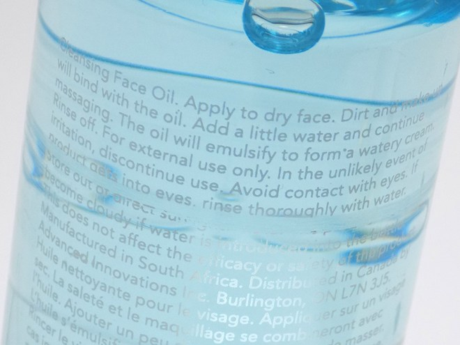 Lipidol Cleansing Oil Instructions