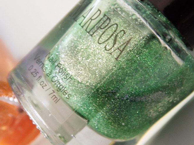 Mariposa Glitter Pixie Dust Green Bottle Pic