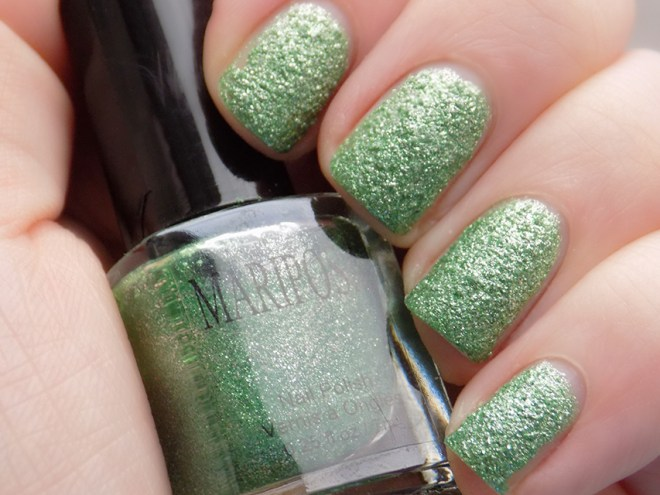 Mariposa Glitter Pixie Dust Green