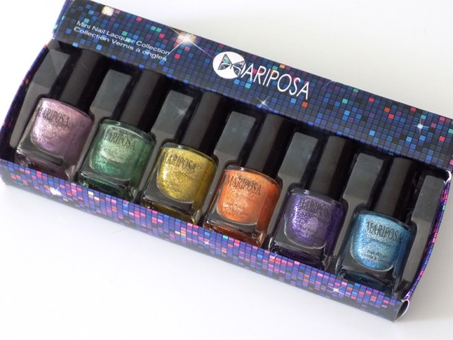 Mariposa Glitter Nail Polishes Dollarama Pixie Dust Dupe