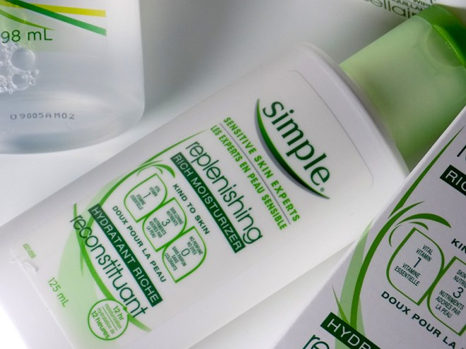 Simple replenishing rich moisturizer review