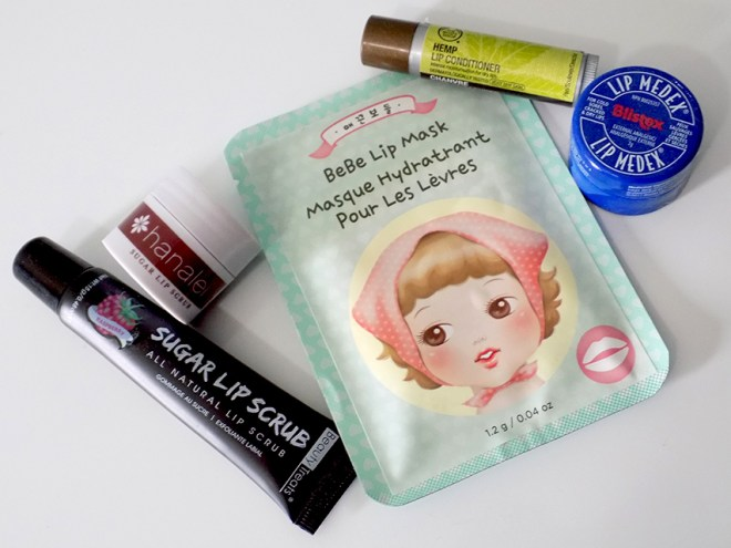 Winter Weather Saviours bebe Lip Mask TheFaceShop