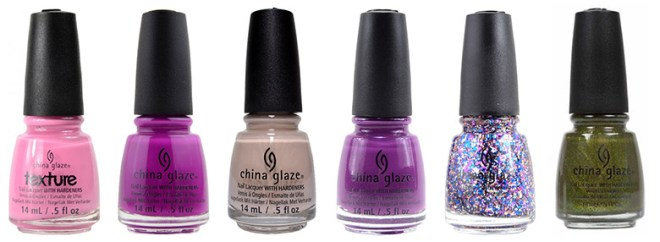 China Glaze Alphabetical UZ