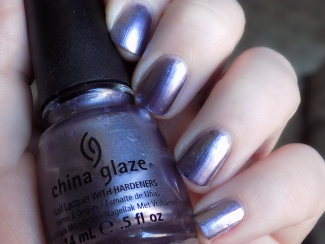 China Glaze Avalanche Nail Polish Swatch