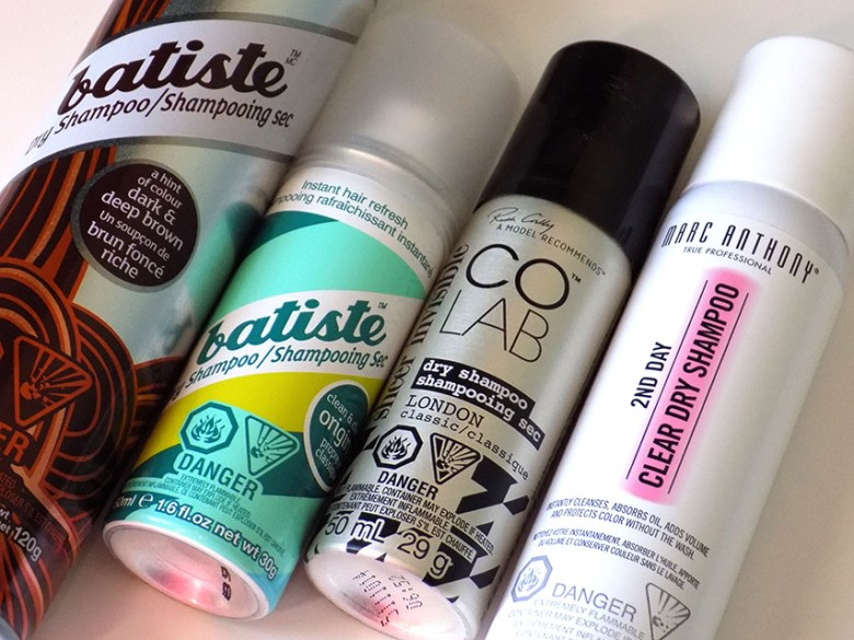 Dry Shampoo Comparison Batiste Colab Marc Anthony Canada
