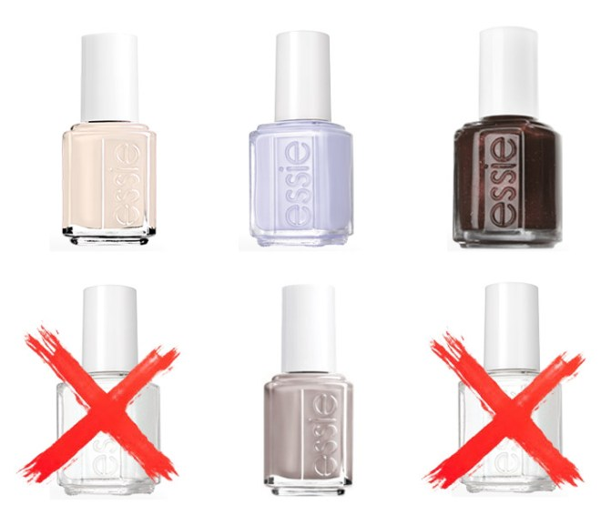 Essie Alphabetical U-Z