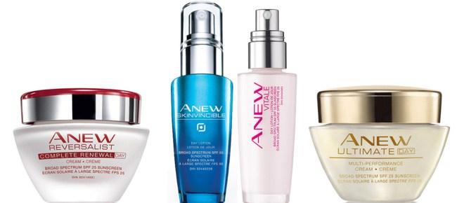 Avon Skinvincible SPF50 and Avon Canada sunscreens