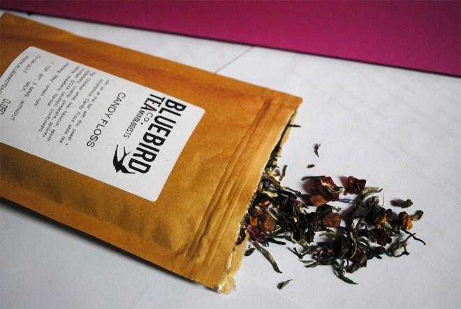 Bluebird Tea Haul Guest Post by That Flour Child - Candy Floss Tea