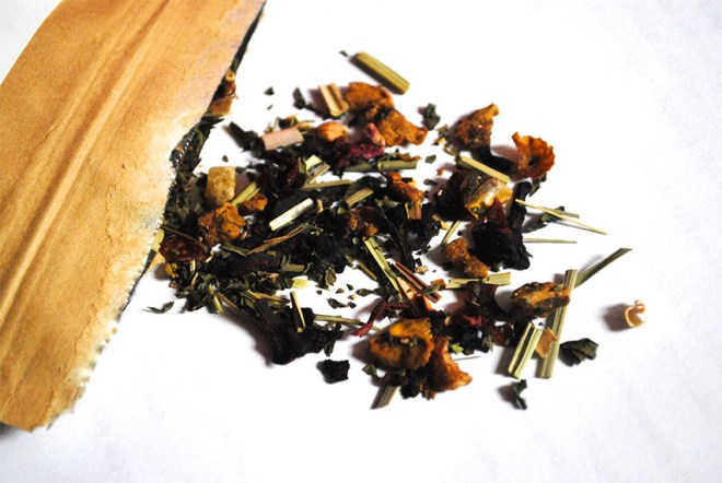 Bluebird Tea Haul Guest Post by That Flour Child - Pineapple Mint 2