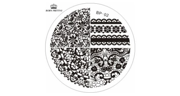 Born Pretty BP02 stamping plate