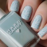 Hard Candy Sky Stamped Mani Swatch