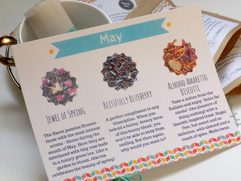 MyTeaBox Tea Card