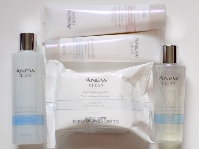 Avon Anew Clean Collection