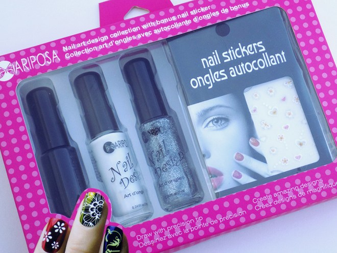 Mariposa Nail Art Kit