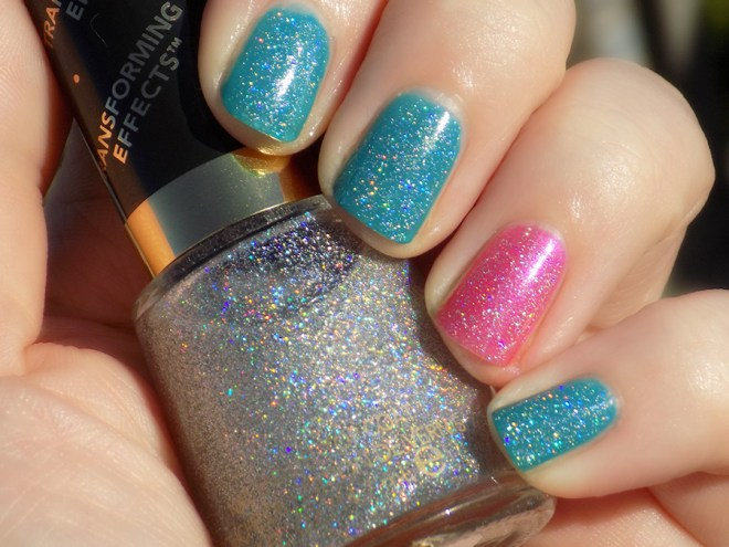 Revlon Holographic Pearls over Quo Ampd