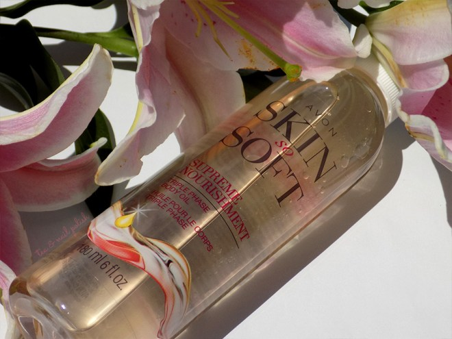 Avon Skin So Soft Supreme Nourishment Triple Phase Body Oil Review
