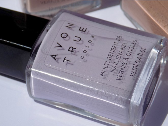 Avon True Color BB Nail Enamel Lilac Love Bottle