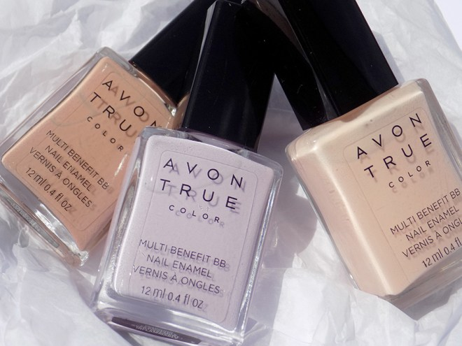 Avon True Color BB Nail Enamel Lilac Love Trio