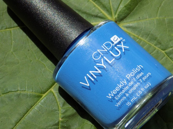 CND Vinylux Date Night Nail Polish Review Bottle